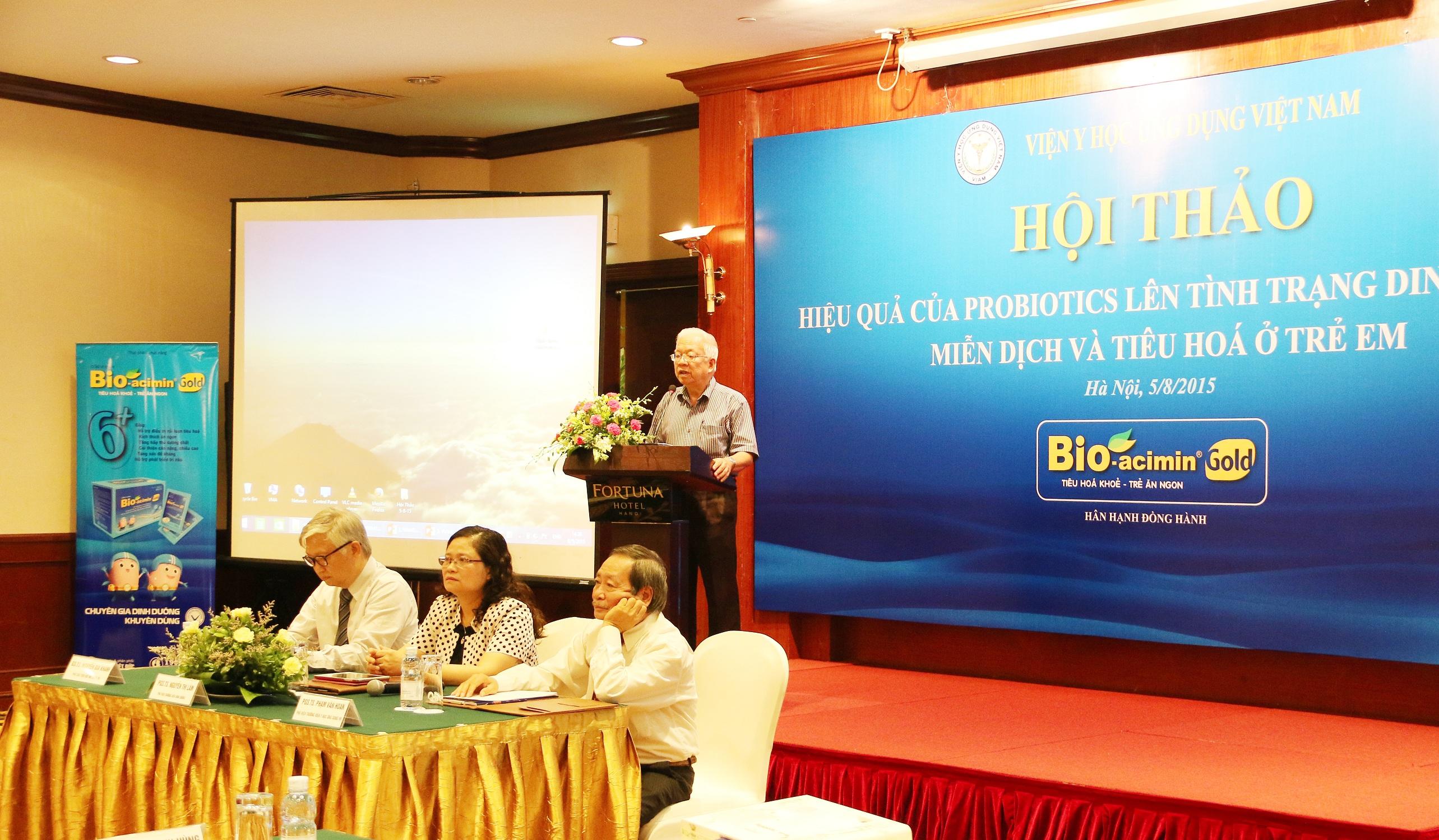 GSTS Phan Manh Hung - Bao cao Nghien cuu lam sang Bio-acimin Gold