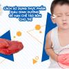 Cách dùng thực phẩm giàu dinh dưỡng để hạn chế táo bón cho trẻ