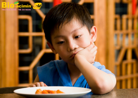 Trẻ 1 đến 6 tuổi biếng ăn