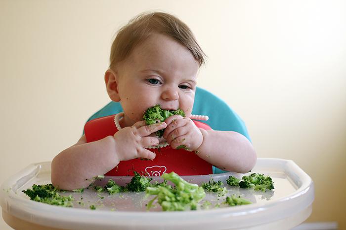 Bioacimin - 04 - May - Những điều mẹ cần biết về chế độ ăn dặm Baby Wed Leaning1