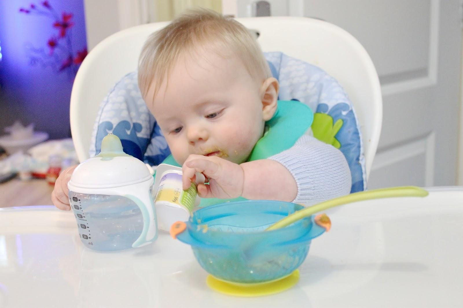 Bioacimin - 04 - May - Những điều mẹ cần biết về chế độ ăn dặm Baby Wed Leaning8