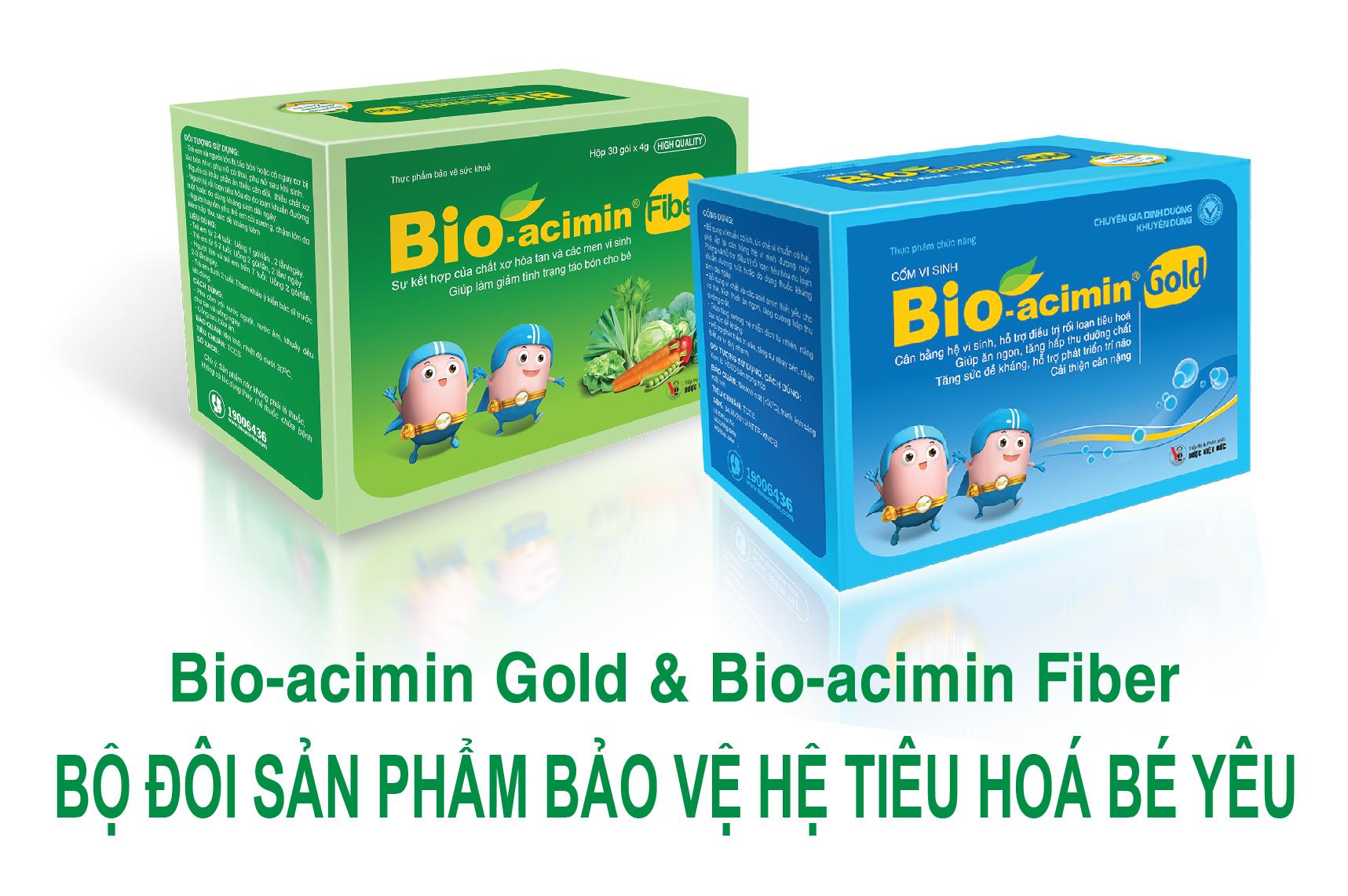 Bio-acimin Gold và Bio-acimin Fiber